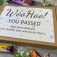 Load image into Gallery viewer, Woo Hoo! You Passed - Personalised Chocolate Box-8-The Persnickety Co