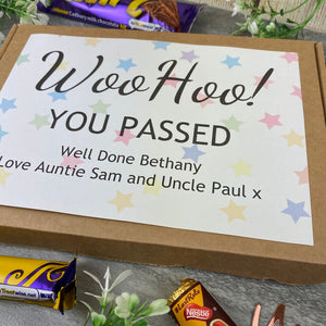 Woo Hoo! You Passed - Personalised Chocolate Box-8-The Persnickety Co