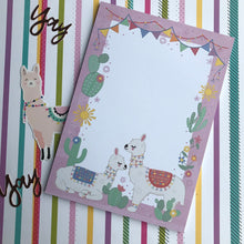 Load image into Gallery viewer, Llama A5 Notepad-3-The Persnickety Co