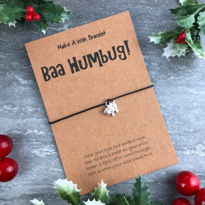 Baa Humbug Wish Bracelet-2-The Persnickety Co