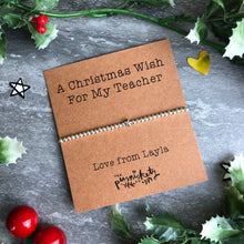 Load image into Gallery viewer, A Christmas Wish For My Teacher-6-The Persnickety Co