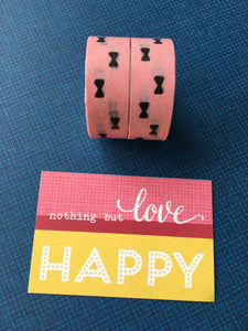 Little Bows Washi Tape-The Persnickety Co