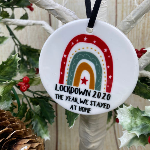 Lockdown 2020 Christmas Hanging Decoration-The Persnickety Co