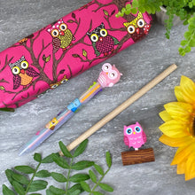 Load image into Gallery viewer, Owl Stationery Set - Pink-7-The Persnickety Co