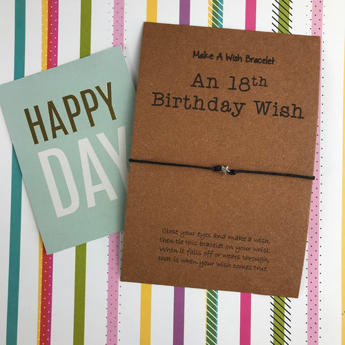 An 18th Birthday Wish - Star-The Persnickety Co