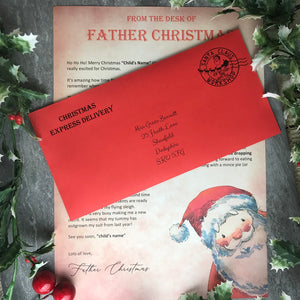 Letter From Father Christmas-The Persnickety Co