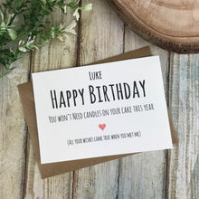 Load image into Gallery viewer, Personalised Humorous Birthday Card-The Persnickety Co