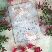 Load image into Gallery viewer, A6 Unicorn Notebook-3-The Persnickety Co