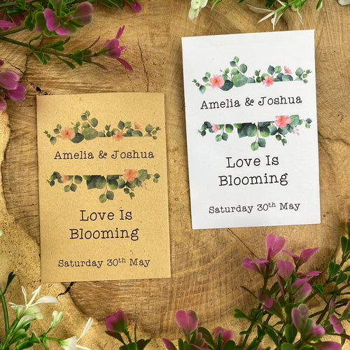 Love Is Blooming - Wedding Favours-The Persnickety Co