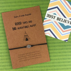 Good Times and Big Adventures Await Wish Bracelet-2-The Persnickety Co