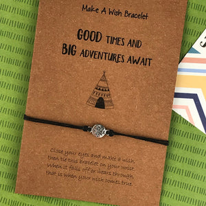 Good Times and Big Adventures Await Wish Bracelet-4-The Persnickety Co