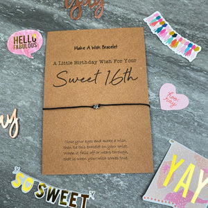 Sweet 16th Wish Bracelet-10-The Persnickety Co