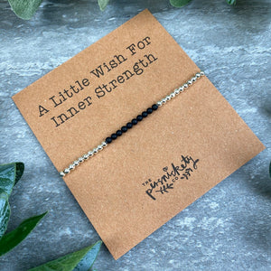 A Little Wish For Inner Strength - Beaded Bracelet-5-The Persnickety Co