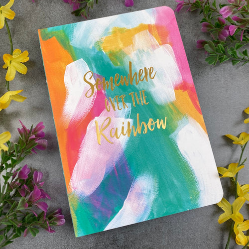 Somewhere Over The Rainbow Notepad-The Persnickety Co