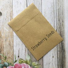 Load image into Gallery viewer, You Are Berry Special Mini Kraft Envelope with Strawberry Seeds-3-The Persnickety Co