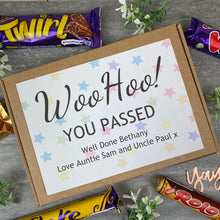 Load image into Gallery viewer, Woo Hoo! You Passed - Personalised Chocolate Box-7-The Persnickety Co