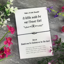 Load image into Gallery viewer, A Little Wish For Our Flower Girl-2-The Persnickety Co