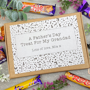 Grandad Fathers Day Treat - Personalised Chocolate Box-9-The Persnickety Co