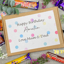 Load image into Gallery viewer, Personalised Birthday Chocolate Gift Box-7-The Persnickety Co