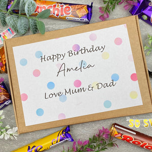 Personalised Birthday Chocolate Gift Box-7-The Persnickety Co