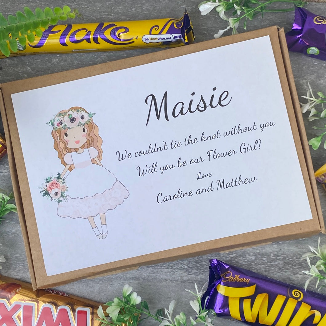 Flower Girl Proposal Chocolate Box-The Persnickety Co