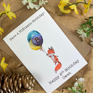 FOXtastic Birthday Card-6-The Persnickety Co
