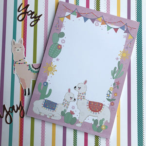 Llama A5 Notepad-2-The Persnickety Co