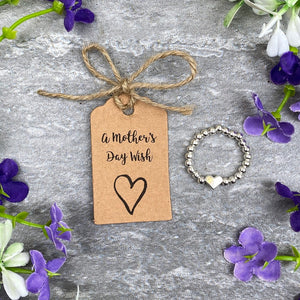 A Mother's Day Wish - Beaded Ring-2-The Persnickety Co