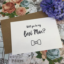 Load image into Gallery viewer, Will You Be My Best Man?-9-The Persnickety Co