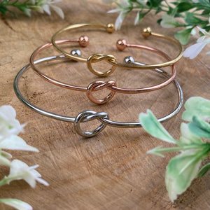 Will You Be My Bridesmaid Knot Bangle-6-The Persnickety Co