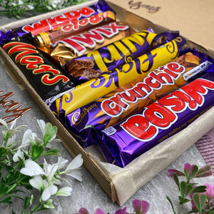A Father's Day Treat - Personalised Chocolate Gift Box-2-The Persnickety Co