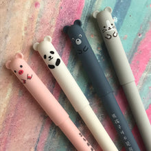 Load image into Gallery viewer, Cute Big Ear Animal Gel Pen - Pig/Panda/Bear/Mouse-6-The Persnickety Co