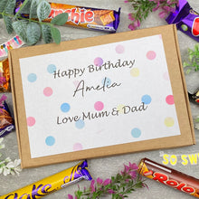 Load image into Gallery viewer, Personalised Birthday Chocolate Gift Box-5-The Persnickety Co