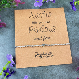 Aunties Like You Are Precious And Few Beaded Bracelet-5-The Persnickety Co