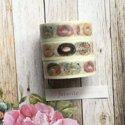 Donut Washi Tape-The Persnickety Co