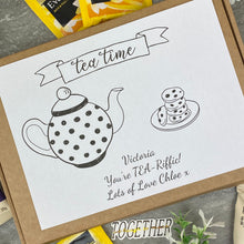 Load image into Gallery viewer, You're TEA-Riffic Personalised Tea and Biscuit Box-5-The Persnickety Co