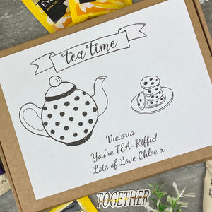 You're TEA-Riffic Personalised Tea and Biscuit Box-5-The Persnickety Co