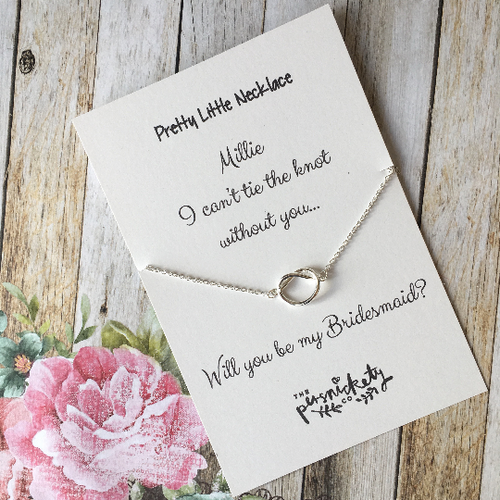 I Couldn't Tie The Knot Without You - Will you be my Bridesmaid etc....-The Persnickety Co