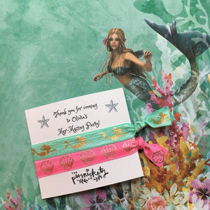 Personalised Mer-Mazing Party Hair Tie-The Persnickety Co