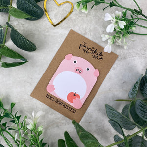 Cute Pig Sticky Note-3-The Persnickety Co