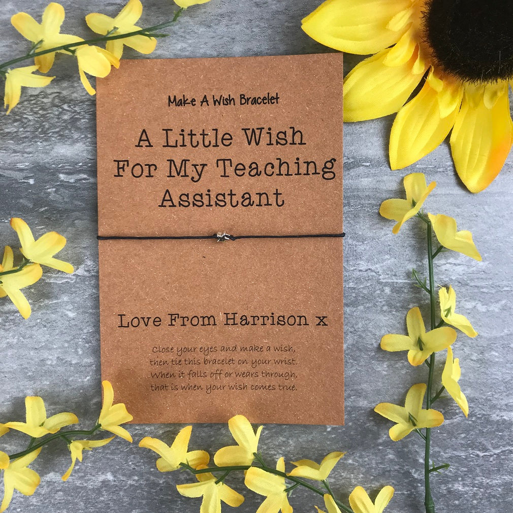 A Little Wish For My Teaching Assistant-The Persnickety Co