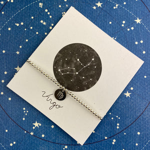 Zodiac Bracelet - Virgo-2-The Persnickety Co
