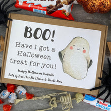 Load image into Gallery viewer, BOO! Personalised Halloween Kinder Bueno Box-6-The Persnickety Co