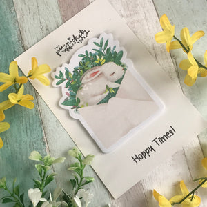 Cute Bunny Sticky Notes-4-The Persnickety Co