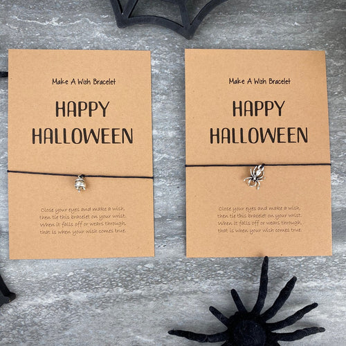 Happy Halloween Wish Bracelet-The Persnickety Co