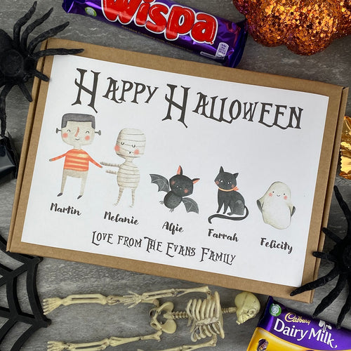 Happy Halloween Personalised Chocolate Box-The Persnickety Co
