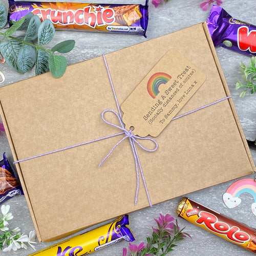 Socially Distanced Gift - Personalised Chocolate Gift Box-The Persnickety Co