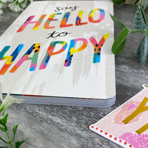Say Hello to Happy Journal Notebook-5-The Persnickety Co