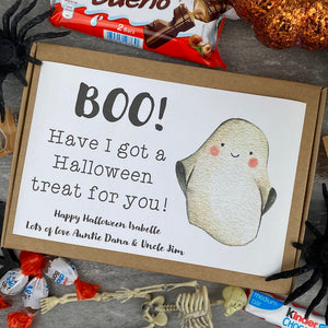 BOO! Personalised Halloween Kinder Bueno Box-8-The Persnickety Co