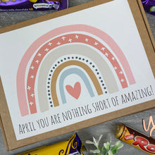 Load image into Gallery viewer, You Are Nothing Short Of Amazing Personalised Chocolate Box-8-The Persnickety Co